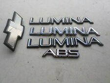 87-94 Chevy Lumina Abs Front Grille 10146022 Logo 10256811 Liftgate 10122040 Set