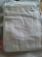 White Thermal Hospital Blanket   74x96