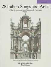 28 Italian Songs & Arias of the 17th & 18th Centuries Based on the Edi 050490104