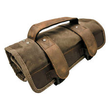 Burly Voyager Tool Roll Pouch UV Treated Cotton Canvas Harley Motorcycles
