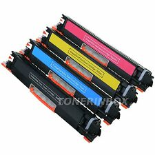 4x Generic CE310A CE311A CE312A CE313A 126A Toner Set For LaserJet CP1025nw M275