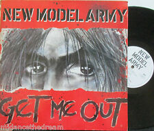"NEW MODEL ARMY ~ Get Me Out ~ GATEFOLD 12"" Single PS & POSTER"