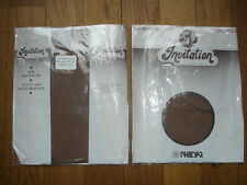 PHILDAR invitation  Lot 2 P bas mousse fin sheer T-3 nylon gay int
