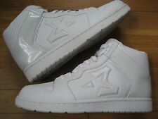 STARBURY all white SIZE 12 BRAND NEW NEVER WORN RARE HIGH TOPS same day shipping