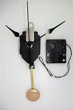 mécanisme horloge quartz à balancier + aiguilles poire + sonnerie + balancier
