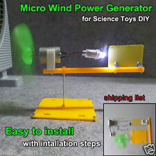 Wind Turbines Generator Model Mini DC Motor For DIY small science project kits