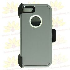 For Apple iPhone 5/SE/5S w/Screen Protector(Belt Clip Fits Otterbox Defender)