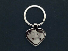 PERSONALISED GIFT PHOTO /TEXT ENGRAVED KEY RING UK MADE