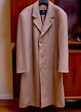 Burberry Mens Beige Wool Trench Coat Size 42-44 / 52 EU Large - Extra Large
