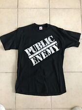 Vintage public enemy t shirt 80 90