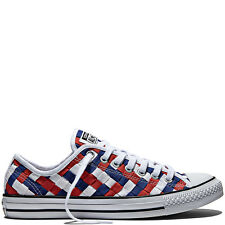 Converse All Star Chuck Taylor Woven Low Casual Sneakers 11 Men's - 13 Women's