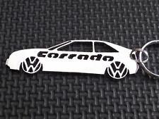 VW CORRADO keyring VR6 G60 16V COUPE 53I SLC 2.9 TURBO keyfob emblem keychain