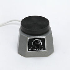 "Dental Lab Equipment Vibrator Shaker Oscillator 4"" Round for Dentist 110V/ 220V"