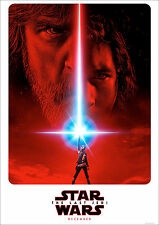 The Last Jedi Poster Star Wars Teaser Coming New Dec 17 FREE P+P A0 4x3ft approx