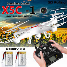 X5C-1 6-Axis Gyro RC Camera drone UAV RTF Quadcopter UFO with 0.3MP Camera