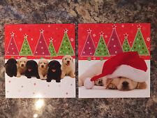 LABRADOR PUPPIES LUXURY CHRISTMAS CARDS PK 10 GC 42