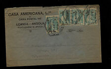 Angola   158w  stamps on cover to US        KL0326