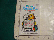 UNREAD Fawcett unused WORD-FINDING FUN tracy st. john, clean tight, 1974