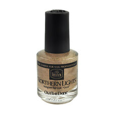 Inm Northern Light Hologram Gold Top Coat 0.5oz