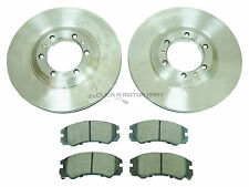 VAUXHALL FRONTERA 1998-2004 MOST MODELS FRONT BRAKE DISCS AND PADS SET NEW +ABS