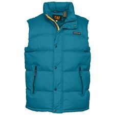 CATERPILLAR MENS PINNACLE MENS PADDED GILET - BLUE – SMALL – BNWT