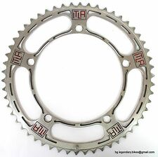 Vintage Eroica Campagnolo Record CHAINRING ENGRAVED ITLA 54T italian artisan