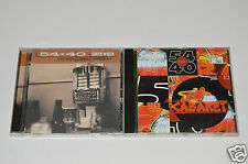54-40 2 CD Lot Collection ROCK ALBUMS Smilin' Buddha Cabaret & Since When
