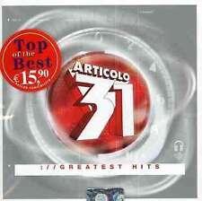 Articolo 31 - Greatest Hits CD RICORDI VIDEO