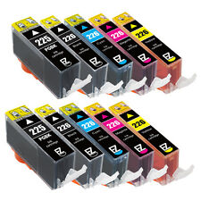 10PK PGI-225 CLI-226 Ink Cartridges for Canon PIXMA MG5120 MG6120 MX712 MX882