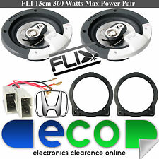 "Honda Civic EP2 FLI 13cm 5.25"" 360 Watts 3 Way Front Door Speakers & accessories"