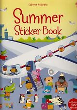 Usborne Activities Summer Sticker Book BRAND NEW by Leonie Pratt (P/B 2008)