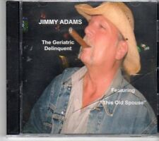 (DN533) Jimmy Adams, The Geriatric Delinquent - sealed CD