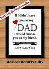 Fathers day Dad gift print daddy grandad birthday word art personalised father