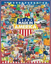 Made In America 1000 piece jigsaw puzzle   760mm x 610mm   (wmp)