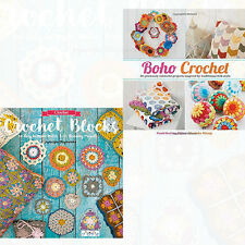 Crochet Blocks and Boho Crochet By Marinke Slump 2 Books Collection Set Pack NEW