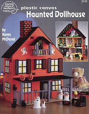 Haunted Dollhouse plastic canvas patterns OOP rare