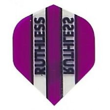 PURPLE RUTHLESS STANDARD SHAPE CLEAR PANEL FLIGHTS