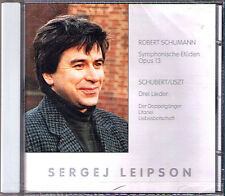 Sergej LEIPSON: SCHUMANN Symphonische Etüden SCHUBERT Doppelgängersss Lieder CD