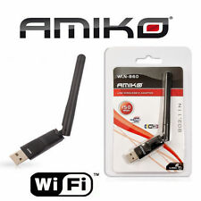 AMIKO Dongle WLN-860 Usb Wifi SHD 8900 ALIEN, ALIEN 2, 8140, 8240, 8360, Mini HD