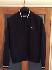 Fred Perry REISSUES MADE IN ENGLAND TENNIS BOMBER Navy Blue Size 40/M