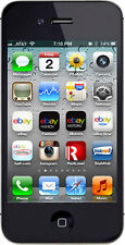 Apple  iPhone 4s - 8 GB - Black- Factory Unlocked(Imported)