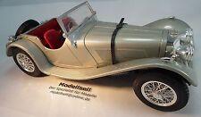 Jaguar SS 100 cabriolet 1937 en escala 1:18 Oldtimer maqueta de coche de Burago