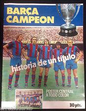 REVISTA BARÇA CAMPEÓN - HISTORIA DE UN TÍTULO - LIGA 73/74 CRUYFF F.C. BARCELONA