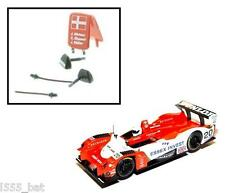 'New' Scalextric W9085 Lister Storm Wing Mirrors, Aerial & Racing Board C2658