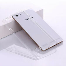 For Oppo Neo7 A33 Clear Transparent hard case DIY back cover