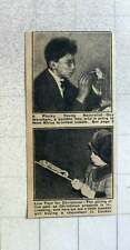 1921 Young Naturalist Guy Wernham Going To West Africa To Collect Insects