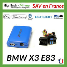 Adaptateur Dension GBL3BM4 Gateway lite BT USB iPod MP3 Bluetooth BMW X3 E83