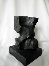 "Lost Wax Cast Bronze Abstract Sculpture, ""Growing Pains"", Fine Art"
