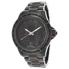 Toy Watch Men's Black Stainless Steel Spider Watch K13B