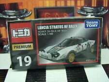 TOMICA PREMIUM #19 LANCIA STRATOS HF RALLY 1/58 SCALE NEW IN BOX